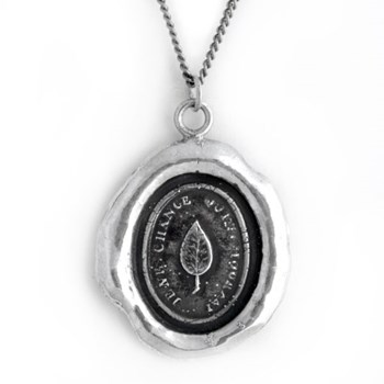 348374-Leaf Talisman Necklace