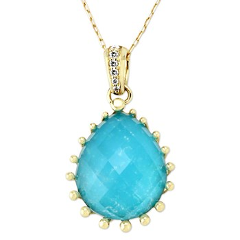 345464-Turquoise Necklace