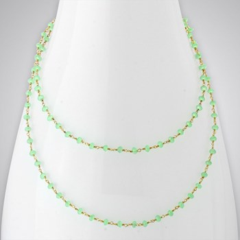 Prehnite 14KTGF Necklace
