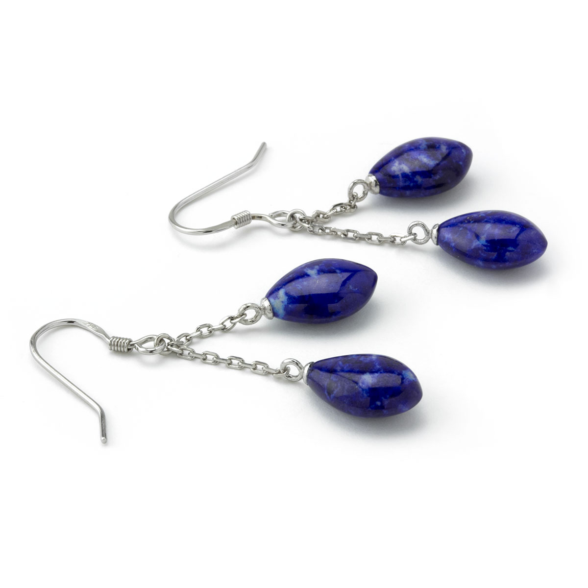 Double Lapis Earrings-645-768