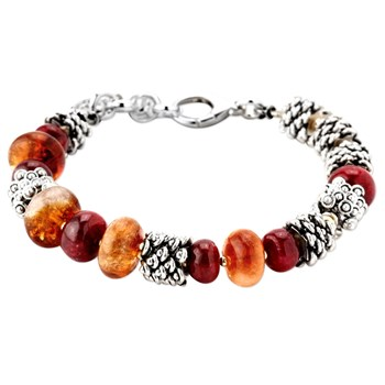 343160-Citrine and Ruby Bracelet