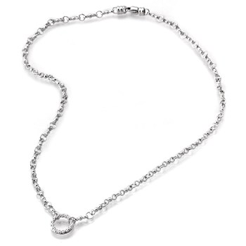 Sterling Silver Necklace-341292