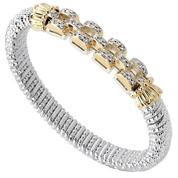 Chain Link Diamond Bracelet-344940