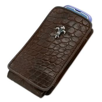 Brown Crocodile iPhone Case-321907