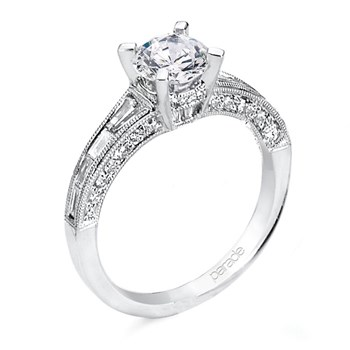 "Parade ""Hemera"" Semi-Mount Diamond Ring-348403"