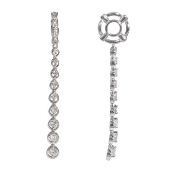 Storywheels Diamond Journey Dangle 14K White Gold Wheel ONLY 2 AVAILABLE!-285551