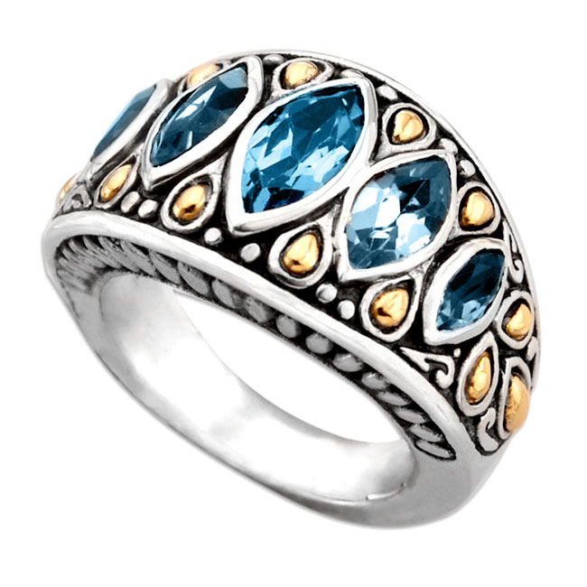 320580-Blue Topaz Ring
