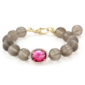Lollies Smokey Quartz Bracelet 344650