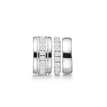 STORY by Kranz & Ziegler Sterling Silver 3-in-1 Sparkle Spacer