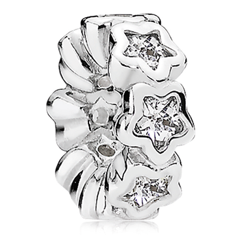 PANDORA Starshine with Clear CZ Spacer-802-3144