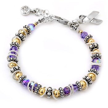 General Cancer Spectacular Awareness Bracelet-222426