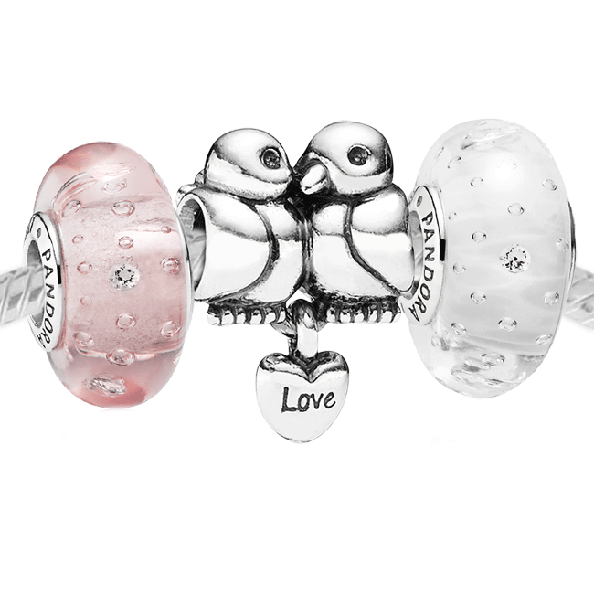 3400-PANDORA Lovey Dovey Set