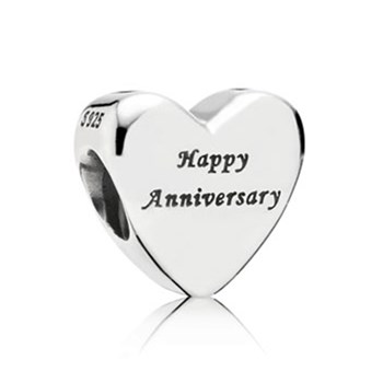 PANDORA Happy Anniversary with 14K Charm-346985