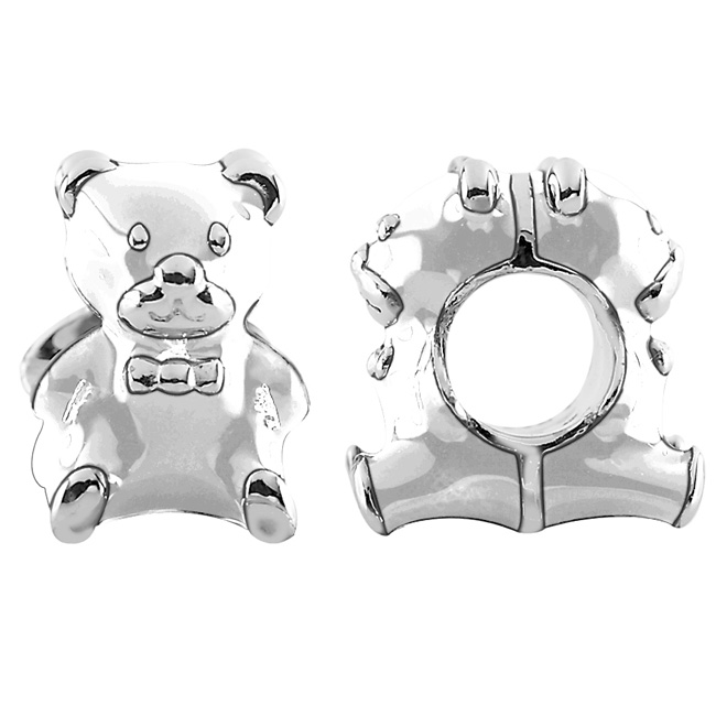 337411-Storywheels Sterling Silver Bear Charm ONLY 4 AVAILABLE!