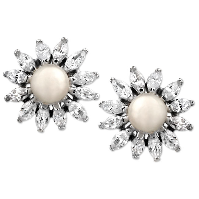 337905-Sunburst Earrings ONLY 1 PAIR LEFT!