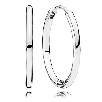 PANDORA Hoop Earrings-804-422