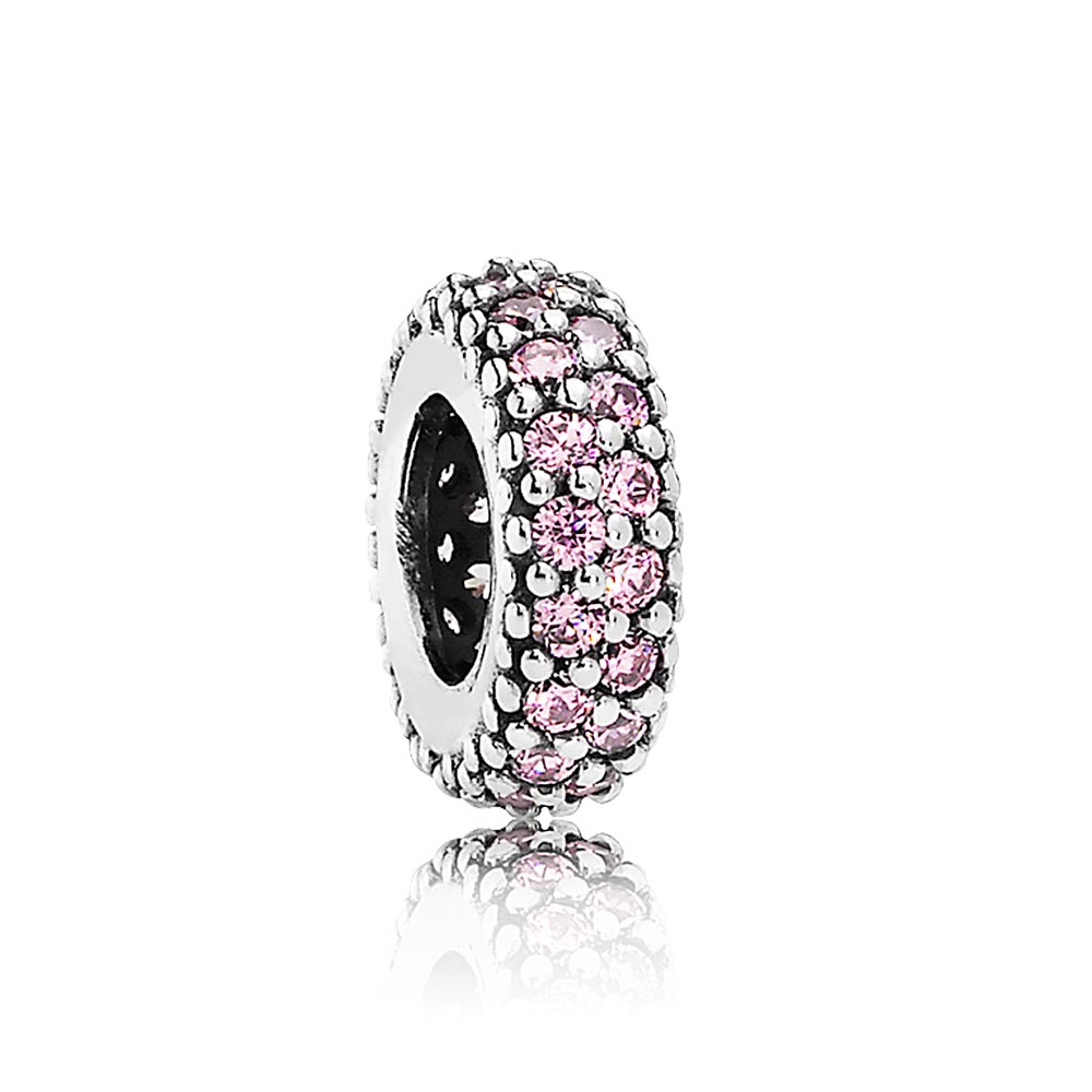 802-2841-PANDORA Inspiration Within with Pink CZ Spacer