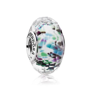 PANDORA Tropical Sea Glass Faceted Murano Glass 343459
