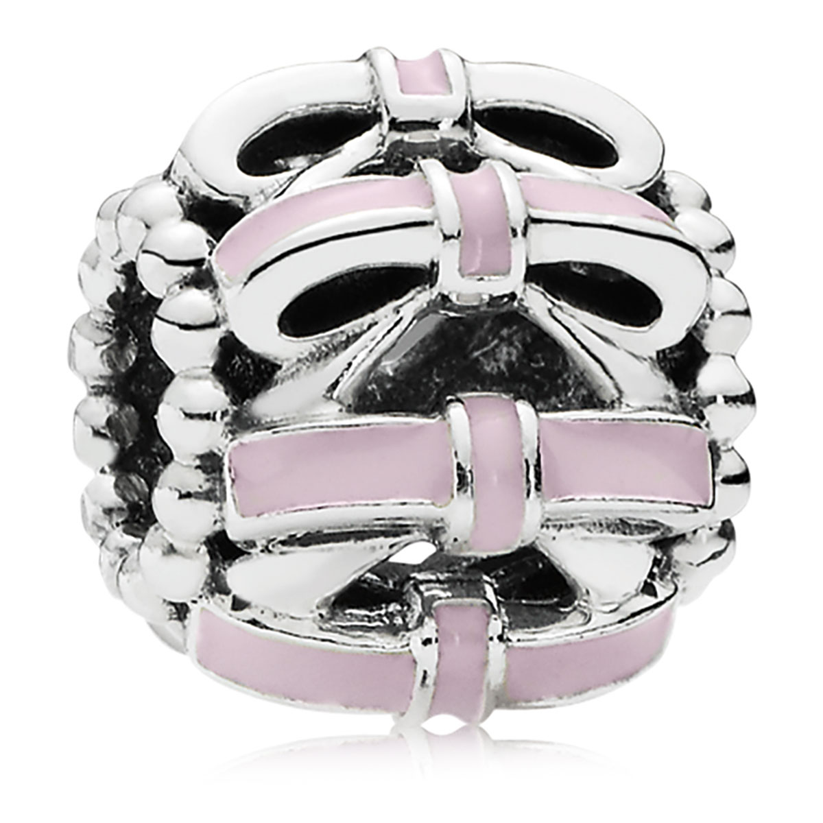 802-3145-PANDORA Sweet Sentiments with Pink Enamel Charm *PANDORA Shop in Shop Exclusive*