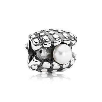 PANDORA One of a Kind with Pearl Charm-343431