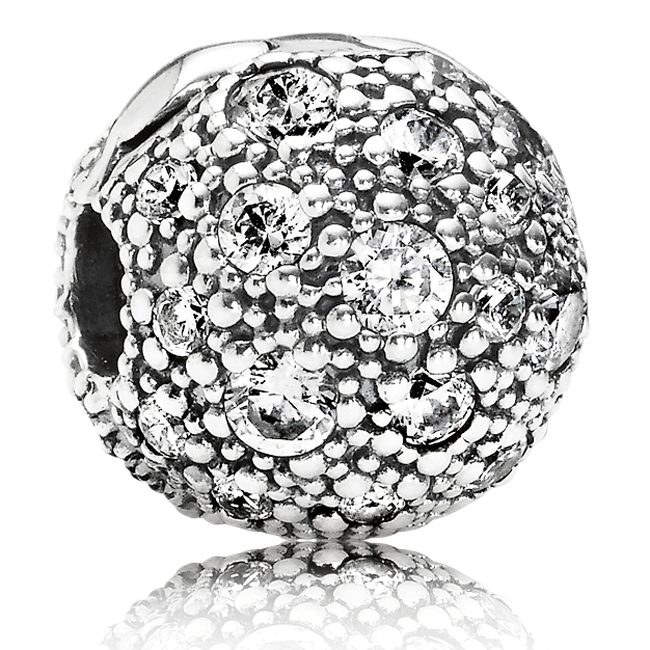 346989-PANDORA Cosmic Stars with Clear CZ Clip