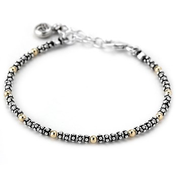 342148-Gold and Sterling Silver Bracelet