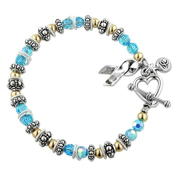 217071-Prostate/Thyroid Cancer - Spectacular Awareness Bracelet