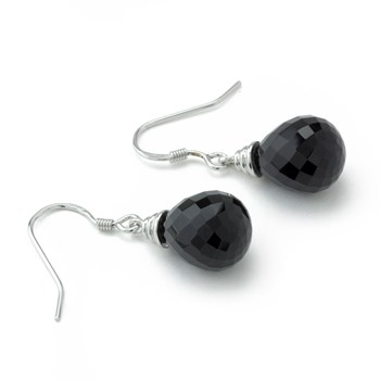 Small Agate Earrings-645-817