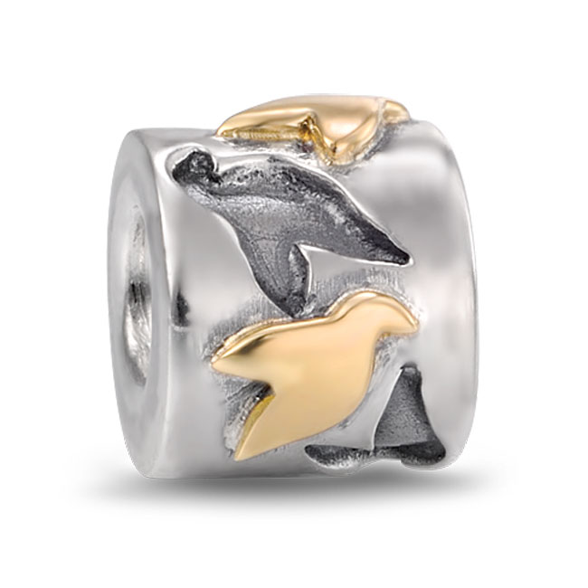 310901-PANDORA Love Birds Charm RETIRED