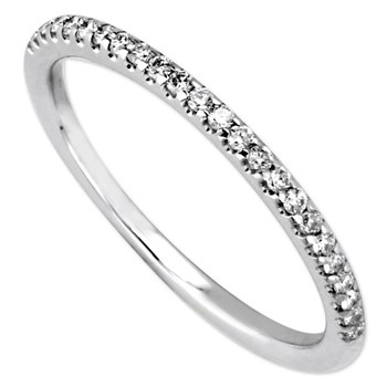Parade Pave Set Diamond Wedding Band-345383