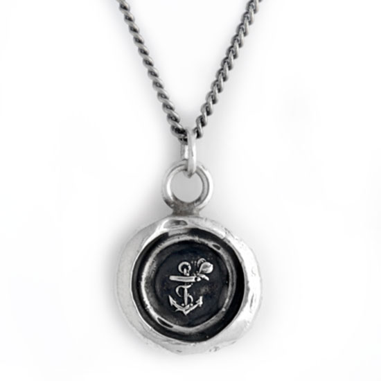 348367-Pyrrha Anchor and Butterfly Talisman Necklace