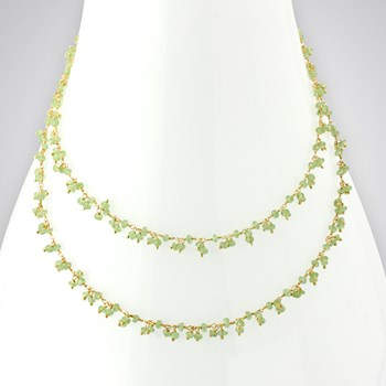 Peridot II 14KTGF Necklace