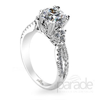 348408-Parade Diamond Semi-Mount Ring