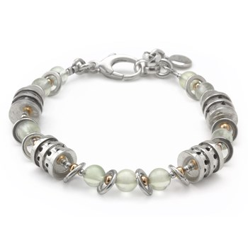 Tourmalated Quartz Bracelet-240-3333