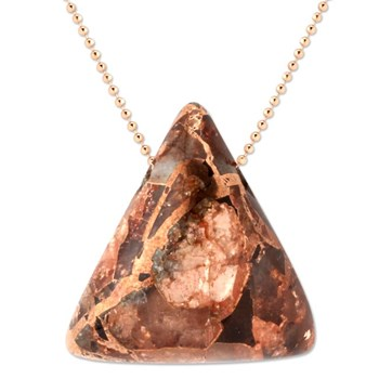 Copper in Quartz Pendant-343386