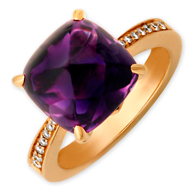 334677-Frederic Sage Amethyst Jelly Bean Ring