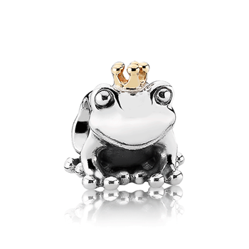 PANDORA Frog Prince with 14K Charm RETIRED