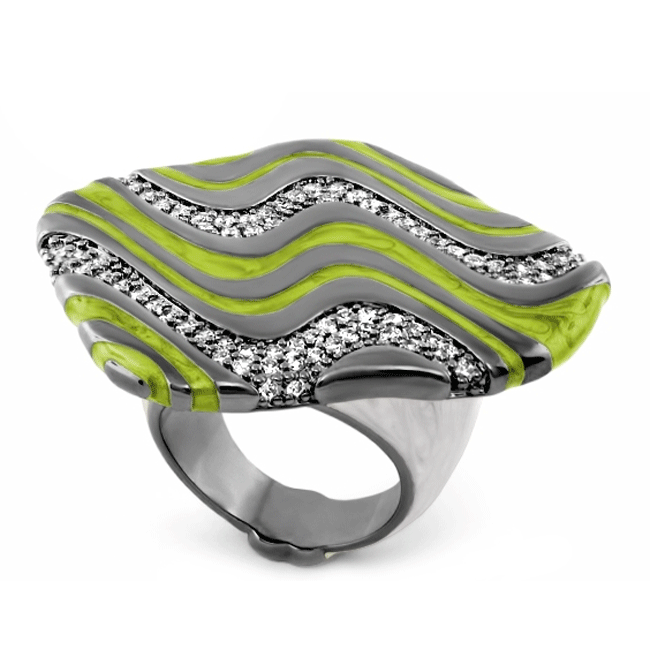 345398-Green 'Moon of Dust' Ring