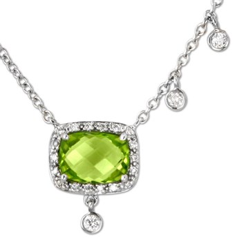 Peridot Necklace-334701