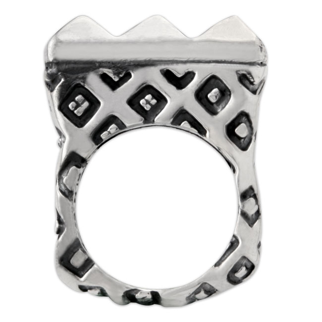 332714-Dian Malouf Sterling Silver Ring