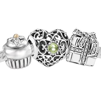 3385-PANDORA Happy August Birthday Set