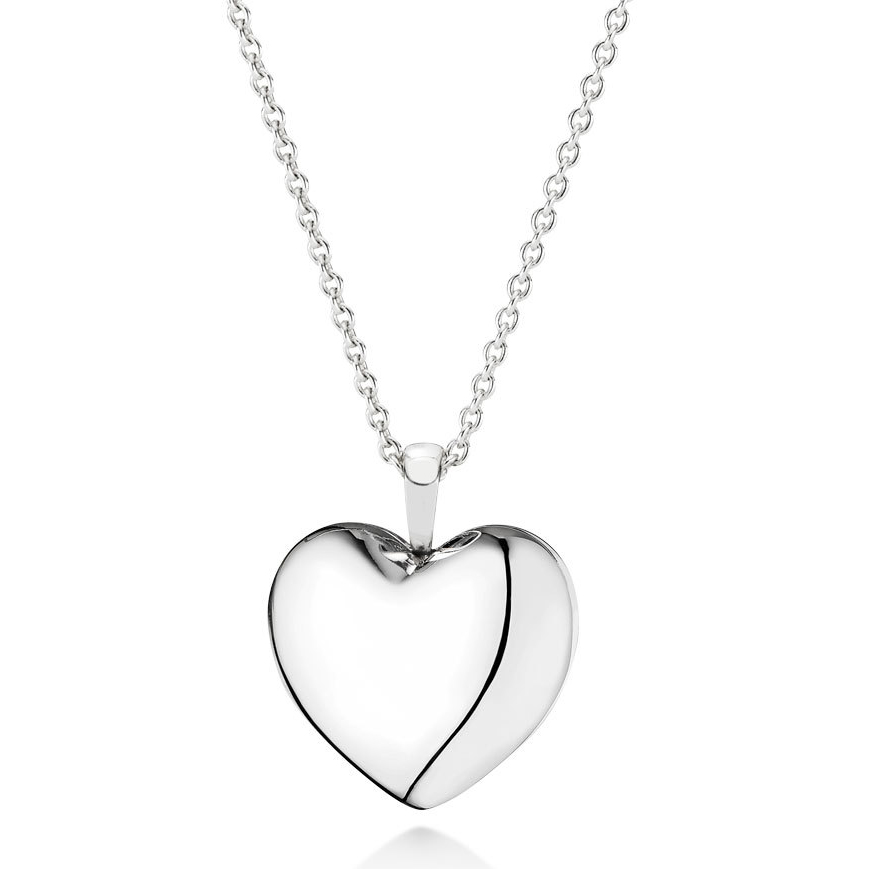 PANDORA Love Locket with Clear CZ Necklace-345513