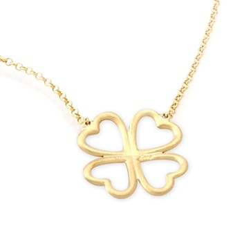 341321-4 Leaf Clover Necklace