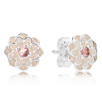PANDORA Blooming Dahlia Earrings
