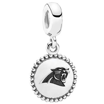 346545-PANDORA Carolina Panthers NFL Hanging Charm