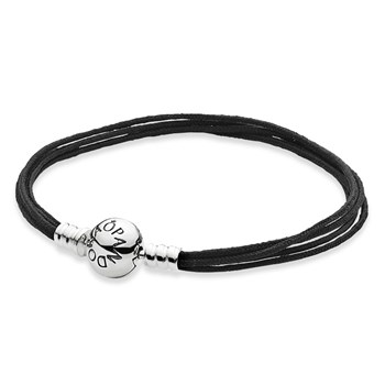 PANDORA Black Multi-Strand Color Cord