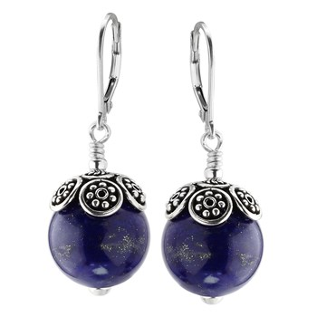 349512-Lapis Lazuli Earrings
