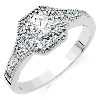 Adelene Diamond Ring-345528