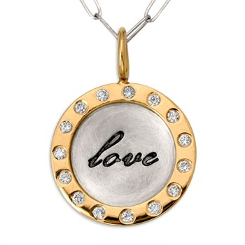 338464-Love & Diamonds Charm