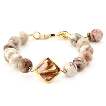 344552-Lollies Agate Bracelet